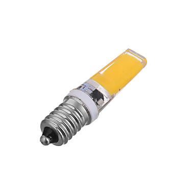 300-400lm E14 Lâmpadas Espiga T 1 Contas LED COB Regulável Decorativa Branco Quente Branco Frio 220-240V