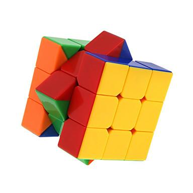 hesapli Oyuncaklar ve Oyunlar-Sihirli küp IQ Cube DaYan Zhanchi 5 55mm 3*3*3 Pürüzsüz Hız Küp Sihirli Küpler Eğitici Oyuncak bulmaca küp Stickerless profesyonel Seviye Hız Doğumgünü Klasik & Zamansız Çocuklar için Yetişkin