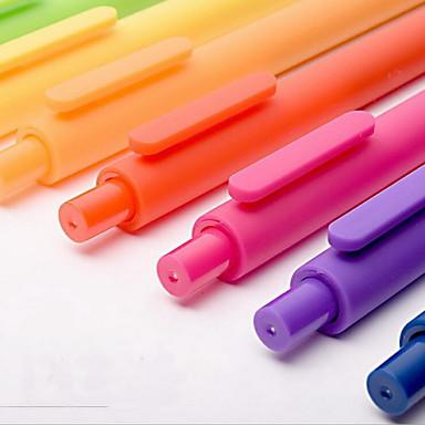 Kuglepen Pen Gel Penne Pen,Plastik Tønde Sort Blæk Farver For Skoleartikler Kontorartikler Pakke med