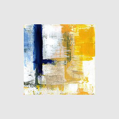 Pintura al óleo pintada a colgar Pintada a mano - Abstracto Modern Lona