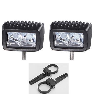 10w Cree 2x førte arbejde lys bar køre lastbil dele lampe + 2