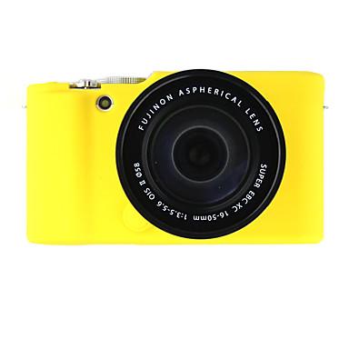 SLR-Hoes- voorFujifilm-Eén-schouder- metStofbestendig-Geel / Wit / Zwart / Blauw
