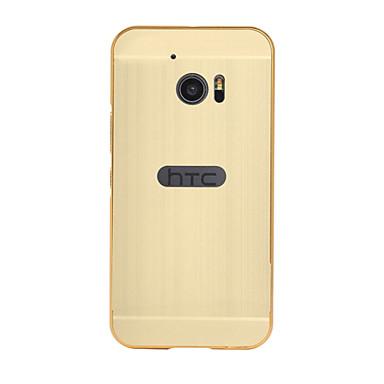 Capa traseira Galvanização / Espelhada Cor Única Acrílico Duro Case Capa Para HTCHTC Desire 626 / HTC Desire 826 / HTC M8 / HTC M9 / HTC