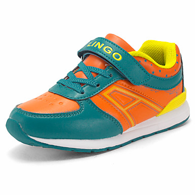 Para Meninos-Tênis-Conforto-Rasteiro-Azul Rosa Laranja-Couro Ecológico-Ar-Livre Para Esporte Casual