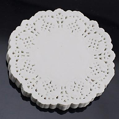 Backwerkzeuge Papier Kuchen dekorieren Brot / Plätzchen / Chocolate 100 Stück
