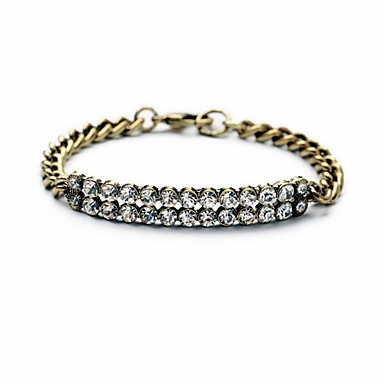 Dame Kæde & Lænkearmbånd Mode Europæisk Legering Cirkelformet Gylden Smykker For 1 Stk.