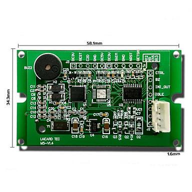 módulo de leitor de cartão de RFID / rc522 reconhecimento de indução de série / leitor de cartão ic / placa de desenvolvimento de baixa