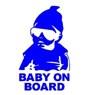 aviso personalidade reflexiva importado no bebê bordo bebê nos adesivos de carro