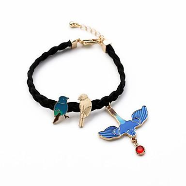 Naisten Amuletti-rannekorut - Muoti Eurooppalainen Pyöreä Sininen Rannekorut Käyttötarkoitus