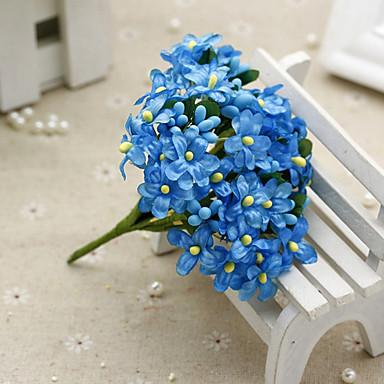 1 Ast Seide Schleierkraut Tisch-Blumen Künstliche Blumen