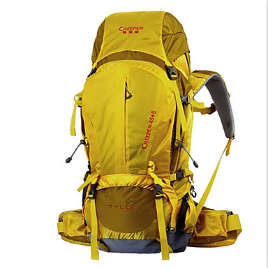 50L L Pacotes de Mochilas Mochilas de Escalada mochila Alpinismo Acampar e Caminhar ViajarInsulação de Calor Prova-de-Água Á
