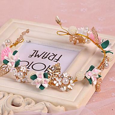 Bandanas Grinaldas Renda Liga Branco Dourado Casamento Ocasião Especial