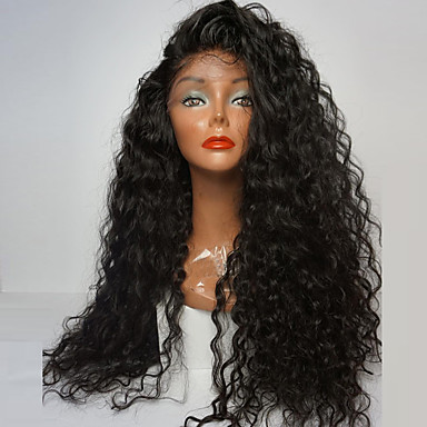 Synthetic Lace Front Wig Curly Side Part 180% Density Synthetic Hair Youth    Party   baa390053e2c