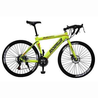 Дорожные велосипеды Велоспорт 21 Скорость 26 дюймы/700CC SHIMANO TX30 Двойной дисковый тормоз Обычные Моноблок Обычные Сталь