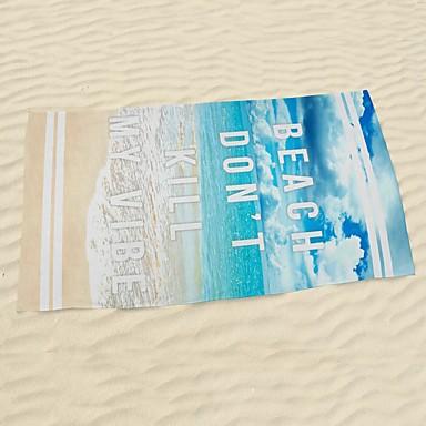 Strandtuch,Reaktiver Druck Gute Qualität 100% Mikrofaser Handtuch