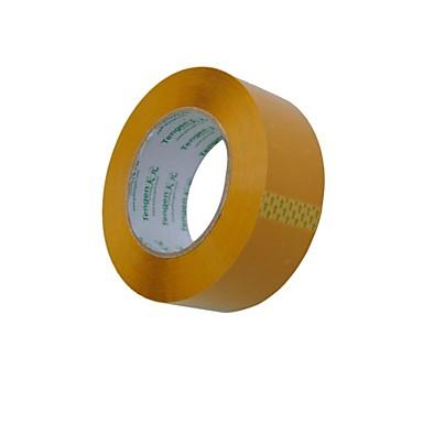 beige plastic tape / verpakking ttape / afdichten tape 4,5 cm * 100 meter subsectie (2 delen a)