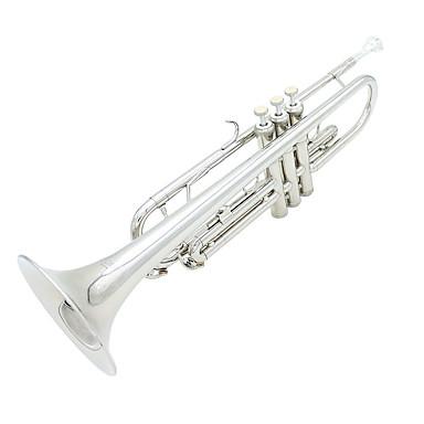 Lade B Reed sølv trompet blæseinstrumenter