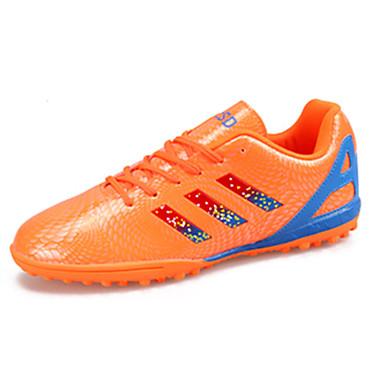 Masculino-Tênis-Conforto-Rasteiro-Preto Azul Verde Laranja-Couro Ecológico-Para Esporte