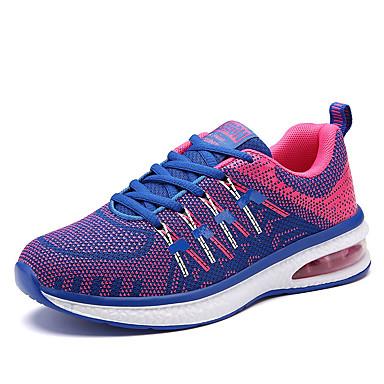 Feminino-Tênis-Conforto-RasteiroTecido-Para Esporte