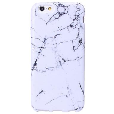 hoesje Voor Apple iPhone X iPhone 8 iPhone 5 hoesje iPhone 6 iPhone 6 Plus iPhone 7 Plus iPhone 7 Patroon Other Achterkant Marmer Zacht