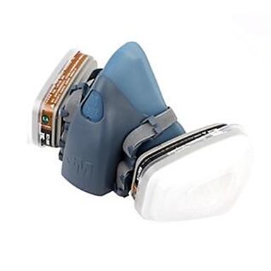 3m 7502 respirator masker qi tre-brikke silikon beskyttende masker kompakte og lette, enkle å avta