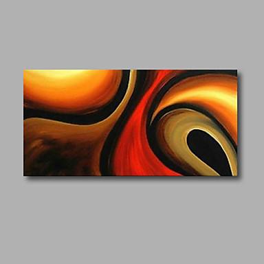 手描きの 抽象画 油彩画,Modern 1枚 キャンバス ハング塗装油絵 For ホームデコレーション