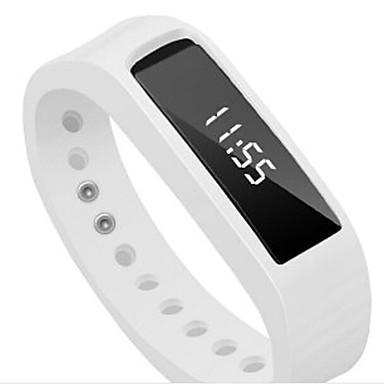 Herre Sportsur Smartur Armbåndsur Digital LED Kronograf alarm Pulsmåler Speedometer Skridtæller Træningsmålere Plastik Bånd Slik