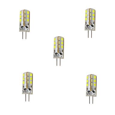 G4 2-pins LED-lampen T 24 leds SMD 2835 Decoratief Warm wit Koel wit 180lm 3000/6500K DC 12V
