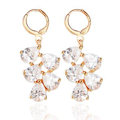 Dame Store øreringe - Mode Guld / Sølv Til Bryllup