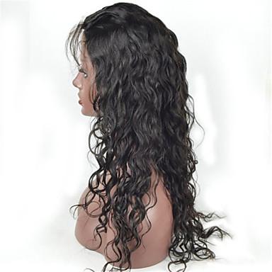 Echt haar Kanten Voorkant Pruik Body Golf 130% Dichtheid 100% handgebonden Afro-Amerikaanse pruik Natuurlijke haarlijn Kort Medium Lang