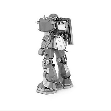 voordelige 3D-puzzels-Legpuzzels 3D-puzzels Bouw blokken DIY Toys Krijger 1 Metaal Roze Game Toy