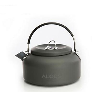 1,4 liter utendørs vannkoker aluminium kjele kokende tekanne ultraportability