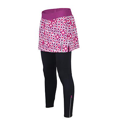 TASDAN Biciklističke hlače Žene Bicikl Haljine i suknje Biciklizam Hulahopke Hlače Quick dry Prozračnost Pad 3D Reflektirajući rub