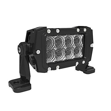 1pcs 6 '' 24W Cree LED lichtbalk grill installatie pickup truck geleid lichtbalk IP69K LED-licht bar super helder model