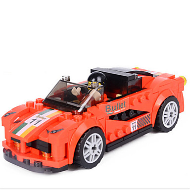 Legetøj Bil Racerbil Kreativ GDS ABS Drenge 181 Stk.