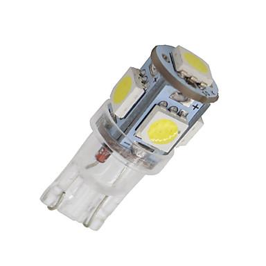 SO.K 20pcs T10 Car Light Bulbs 1 W SMD 5050 60 lm 5 Turn Signal Light For universal