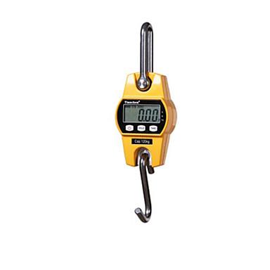 mini elektronische hook schaal (met een gewicht bereik: 60 (kg), geel)
