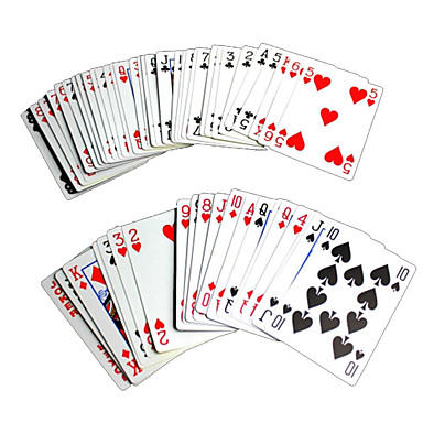 Poker Goochelrekwisiet Goocheltrucs Speeltjes Plezier Papier Kinderen Stuks