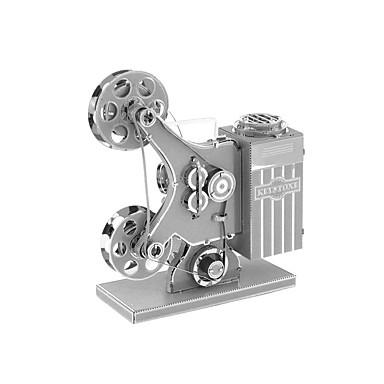 Quebra-cabeças Blocos de construção Brinquedos Faça Você Mesmo 1 Metal Prateada Brinquedos Criativos & Pegadinhas
