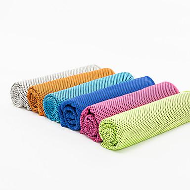 Yoga Toalhas / Toalha de refrigeração Pegajoso / Eco-friendly / Non Toxic / Sem Cheiros Microfibre Laranja / Rosa / Azul / Verde