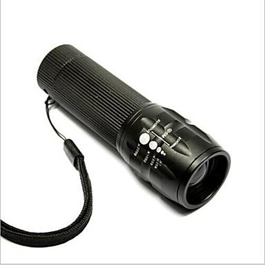 LED-Zaklampen LED - Wielrennen Verstelbare focus Gemakkelijk draagbaar AAA 50 Lumens Batterij Fietsen
