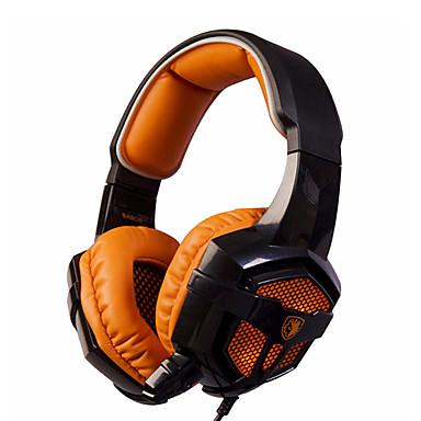 Sades SA-806 Hodetelefoner (hodebånd)ForMedie Avspiller/Tablett ComputerWithMed mikrofon DJ Lydstyrke Kontroll FM Radio Gaming Sport