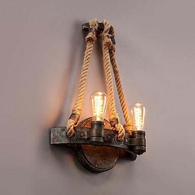 Retro / Landhaus Stil Wandlampen Metall Wandleuchte 220v / 110V 60W