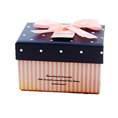 blauwe kleur, ander materiaal verpakking& verzending geschenk box een pak van drie