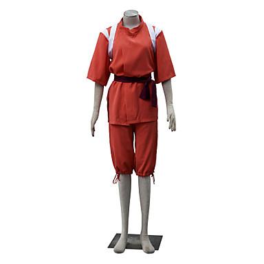 Inspiriert von Chihiros Chihiro Ogino Anime Cosplay Kostüme Cosplay Kostüme Solide Kurzarm Top / Yukata / Unterhose Für Damen Halloween Kostüme