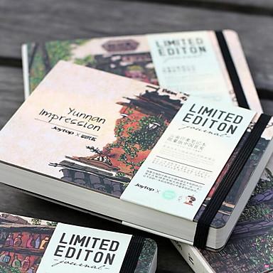 yunnan indtryk kreative notesblok retro håndtegnet skitse bog (yunnan indtryk)