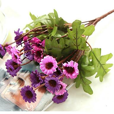 1 Afdeling Silke Tusindfryd Bordblomst Kunstige blomster