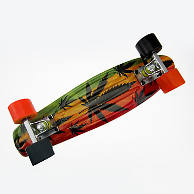 Cruisers Skateboard PP (Polypropen) Orange Orange/Sort Blomst