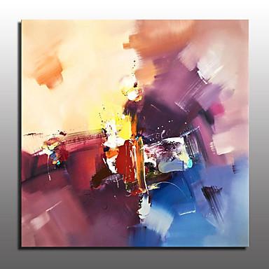 pintura a óleo abstrata pintada à mão em tela de parede imagem de arte para decoração de casa com moldura esticada pronta para pendurar
