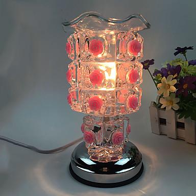 1pc aangesloten op elektriciteit rozen zoete essentie olielamp aing soort versierd gift bureaulamp aanraakgevoelige